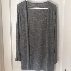 Gray Gap sweater jacket